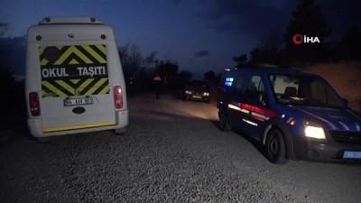 Uşak'ta 1 kişiyi öldürüp 1 kişiyi yaralayan şüpheli tutuklandı