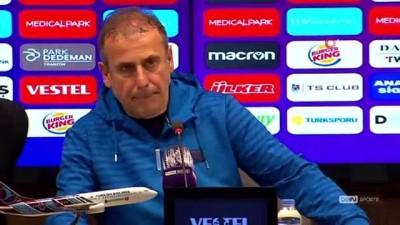 Abdullah Avcı: 'Son saniyede gol yemek üzdü'