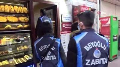 Beyoğlu'nda fırınlara denetim: Pide üretiminde ihlale ceza kesildi