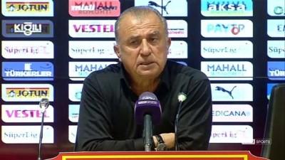 Fatih Terim: 'Futbol sahası bizim işimiz deyip eğer rahat edebilirsek o tarafa konsantre olacağız'