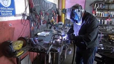 yetkinlik -  Forklift tamircisinin tasarımları Amerikalı motosikletçileri sıraya soktu