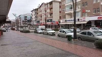 Kısıtlamada Kırşehir sessizliğe büründü