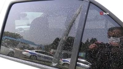 Meteoroloji toz uyarısında bulunmuştu, gökyüzünden çamur yağdı