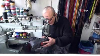 Pandemi ayakkabı tamircilerinin de işlerini sekteye uğrattı