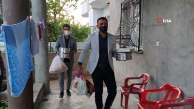TÜGŞAV Şırnak Şube başkanı şehit ailesi ile iftar açtı