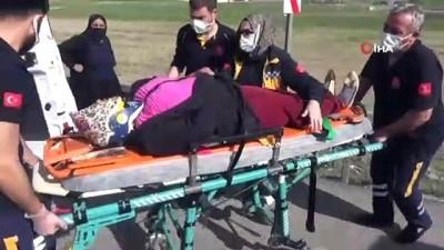 Aksaray'da iki otomobil çarpıştı: 4'ü çocuk 9 yaralı