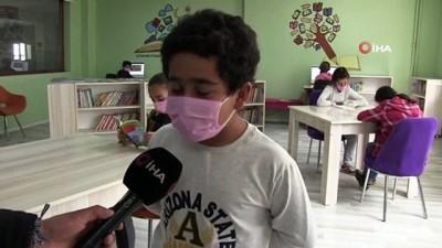 Beytüşşebap'ta öğrenciler, EBA Destek Noktası sayesinde derslerinden geri kalmıyor