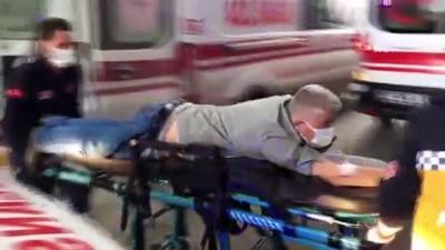 Caddede yürürken kurşunların hedefi oldular: 2 yaralı