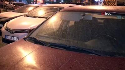 İstanbul'da çamur yağışı etkili oldu