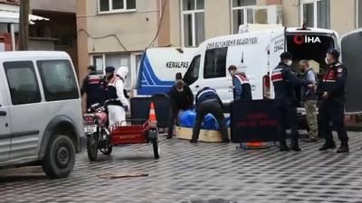 uyusturucu -  İzmir'de üvey baba cinayeti...Annesinin eski eşini pompalı tüfekle 4 el ateş ederek öldürdü