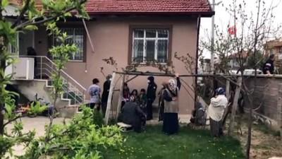 Konya'da çocukların çakmak ile oyunu müstakil evi kül etti