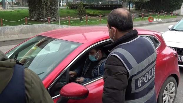 karayollari -  Samsun'da sessiz hafta sonu kısıtlaması