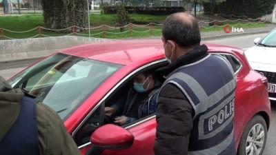 Samsun'da sessiz hafta sonu kısıtlaması