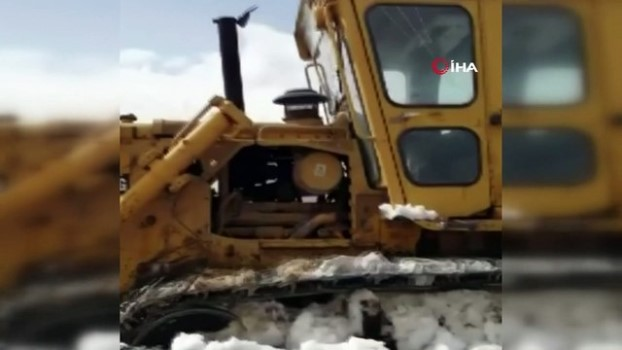 kar kalinligi -  10 köy kar esaretinden kurtuluyor