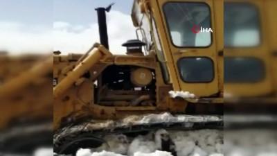 10 köy kar esaretinden kurtuluyor