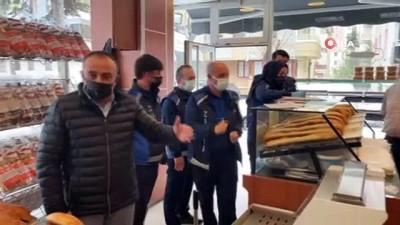 imalathane -  Çorum'da zabıta ekipleri fırınları denetledi