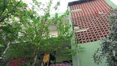 Evde yalnız bıraktığı 4 yaşındaki kızı balkondan sarkan anneden hayrete düşüren savunma
