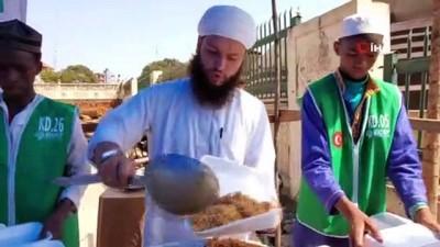 iftar yemegi -  Gine'de her gün 2 bin 500 kişilik iftar yemeği dağıtılıyor