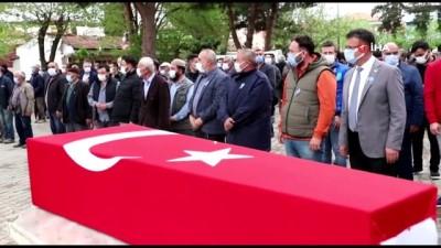 Kıbrıs Gazisi askeri törenle ebediyete uğurlandı
