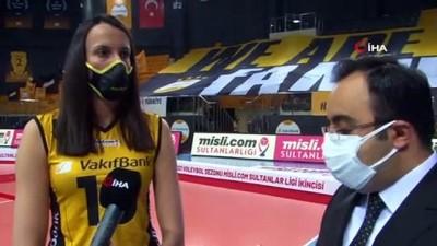 italyan -  Milena Rasic: 'Motivasyonumuzu korumayı başardık ve mutlu sona ulaştık'