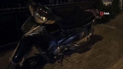 Motosiklet hırsızları 30 dakikada yakayı ele verdi