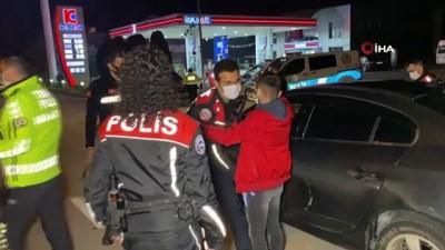 Muafiyeti kötüye kullanan ve kısıtlamaya uymayan 285 kişiye 988 bin lira ceza kesildi