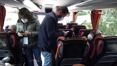 Otobüste korona virüs paniği: 'Riskli' şoför sefer sırasında yakalandı