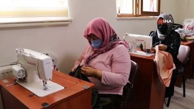 Şanlıurfa'da açılan kurslarla kadınlar meslek ediniyor