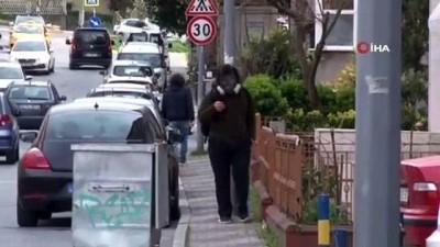 kisla -  Tedbirleri abarttı, vaka sayısı artınca dışarı gaz maskesiyle çıktı