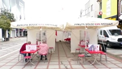 Türk Kızılay Edirne Şubesinden kan bağışı çağrısı