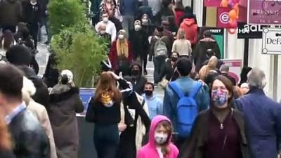 Vaka sayılarının azaldığı Samsun'da cadde ve sokaklardaki kalabalık 'pes' dedirtti