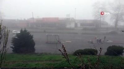 Zonguldak sis altında kaldı