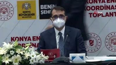 """Bakan Dönmez: """"Elektrik ve doğalgazda yatırım hedefimiz 612 milyon lira"""""""