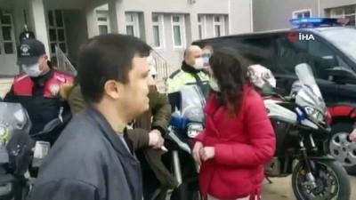 Dünya Otizm Farkındalık gününde polis oldular, mutlulukları gözlerinden okundu