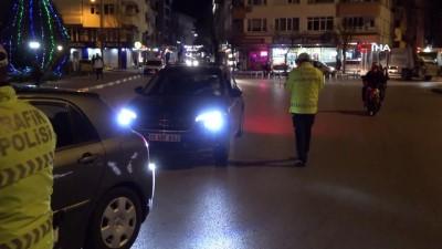 Kırklareli'nde sokağa çıkma kısıtlaması başladı