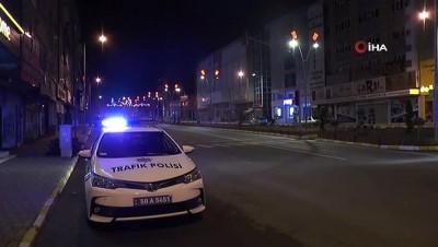 Nevşehir'de 56 saatlik sokağa çıkma kısıtlaması başladı