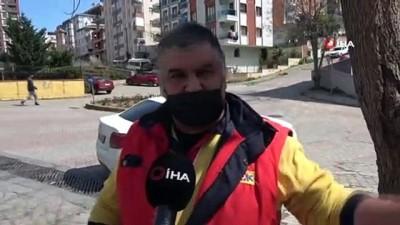arac plakasi -  Polisten kaçarken liseli gence çarpan şahısların kaçma anları kamerada