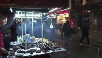 zabita -  Taksim'de manzara kısıtlama sonrası da değişmedi