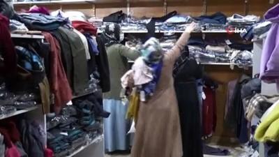 Varto'da ihtiyaç sahibi 4 bin kişiye giyim yardımı