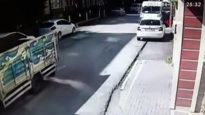 hirsiz -  Beylikdüzü'nde 10 adrese giren hırsız önce kameraya sonra polise yakalandı