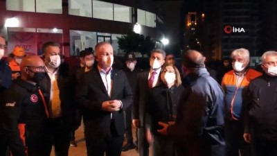 Gaziantep Büyükşehir Belediye Başkanı Fatma Şahin: 'En büyük tesellimiz olay anında burada çocuklar oynuyordu, hiç kimseye bir şey olmaması'