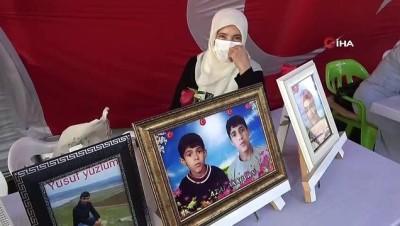 HDP önündeki aileler Ramazan ayında da evlatlarının yolunu gözlüyor
