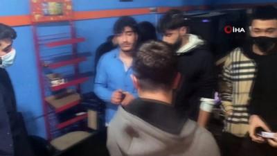 """internet kafe -  İnternet kafedeki baskında ceza kesilen genç: """"Abi sadece maç yapıyorduk"""""""