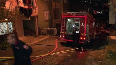 elektrik kontagi -  Kadıköy'de iftara dakikalar kala yangın paniği: 1 yaralı