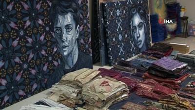 sanat eseri -  Kot giysilerden insan portrelerine giden 'sanat dönüşümü'