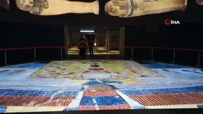 - Mısır Medeniyeti Ulusal Müzesi'nde kraliyet mumyaları sergileniyor