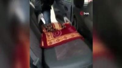 uyusturucu -  Otomobilin zulasından uyuşturucu çıktı