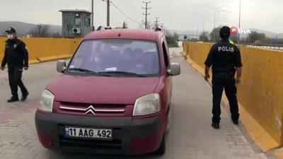 kisla -  Polis ve Jandarma şehrin giriş çıkışlarında göz açtırmıyor