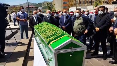 AK Partili Şamil Tayyar'ın babası son yolculuğuna uğurlanıyor