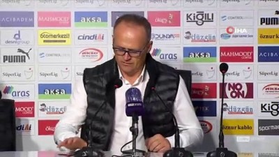 """İrfan Buz: """"Ankaragücü müsabakası var ona konsantre olmamız gerekiyor"""""""